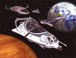 Spacepatrol by Gustvoc