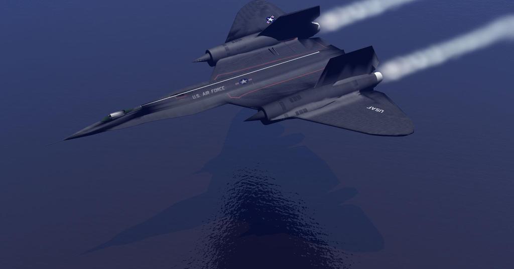 SR-71 Version 2 by Gustvoc