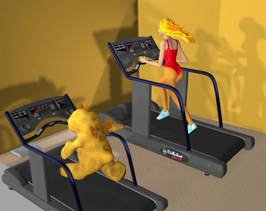 getting in shape by Gustvoc