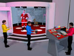 Is the real one captain trek christmas again by Gustvoc