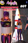 Batgirl retro comic retro trap