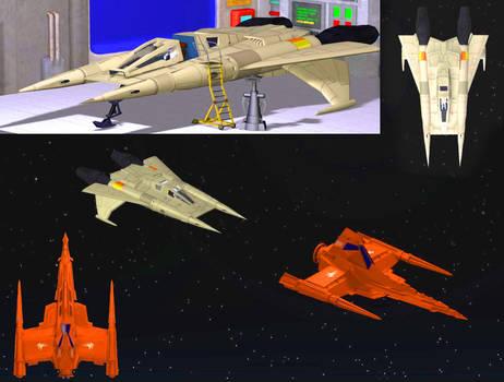Star Fighter vs Draconian Marauder