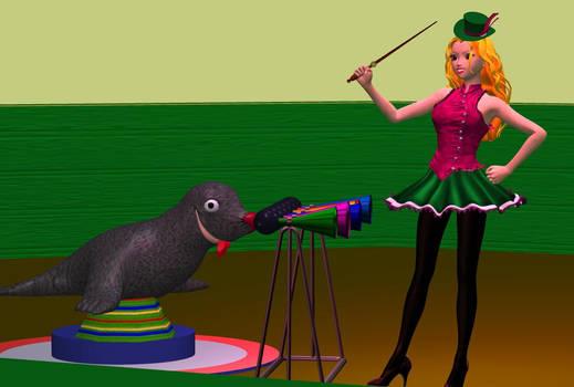 Return to the circus Magic Girl
