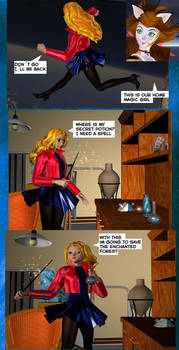 Magic Girl Adventures page 14