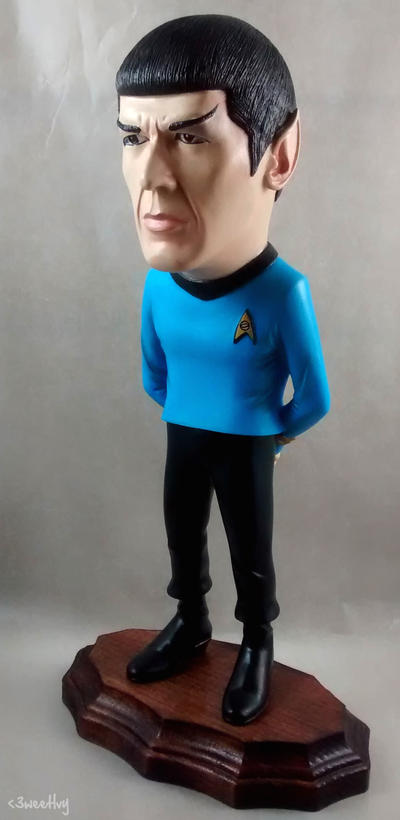Mr. Spock Model Kit by SweetEvee