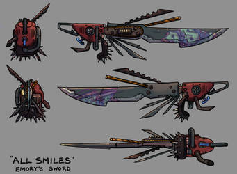 'All Smiles' - Emory's Sword