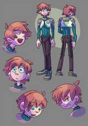 Young Cael Redesign