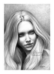Amanda Seyfried drawing ii