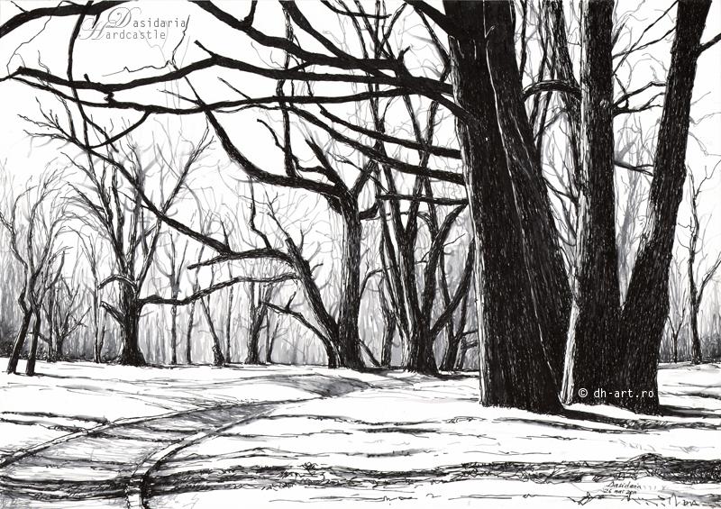 Tree bones by dasidaria-art