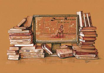 Book addiction by dasidaria-art