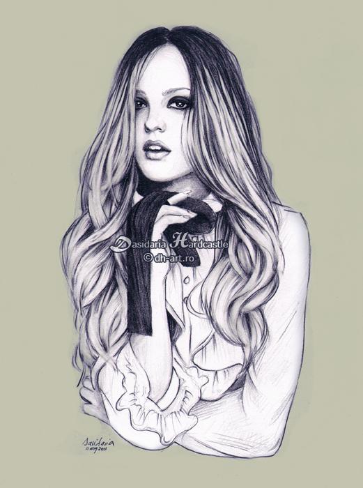 Leighton Meester by dasidaria-art