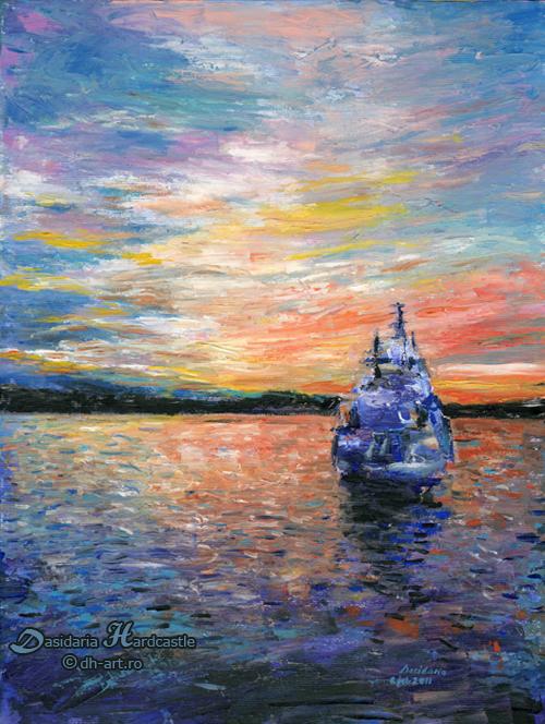 Sunrise in Oslo by dasidaria-art