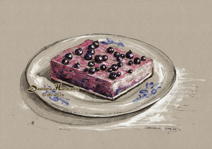 Piece of cake by dh6art