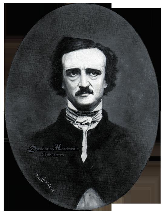 Edgar Allan Poe by dasidaria-art