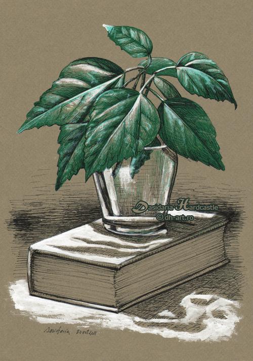 Leafy twigs by dasidaria-art