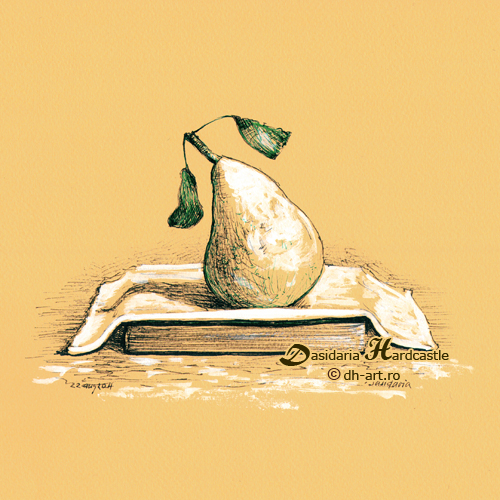 Yellow pear by dh6art