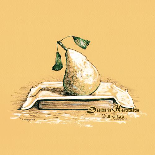 Yellow pear by dasidaria-art
