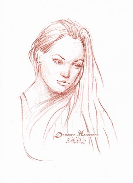 Girl ii by dasidaria-art