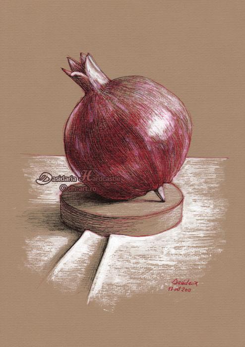 Pomegranate by dasidaria-art