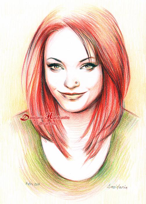 Redhead by dasidaria-art