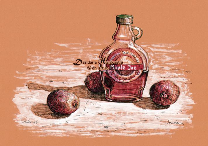Syrup and kiwi by dasidaria-art