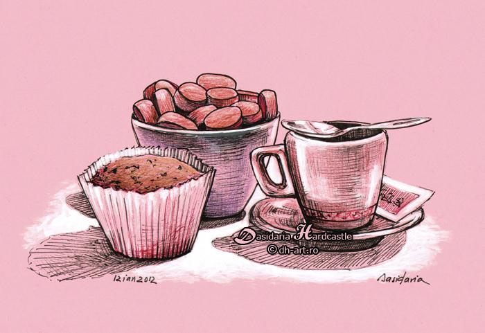 Dessert by dasidaria-art