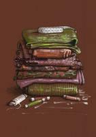 Textiles by dasidaria-art