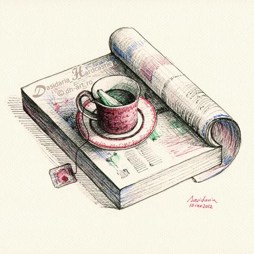 Morning break by dasidaria-art