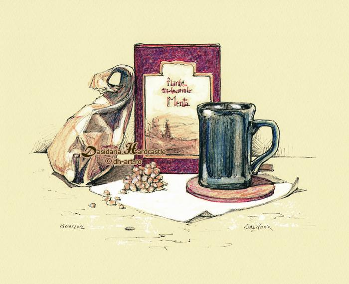 Tea time by dasidaria-art