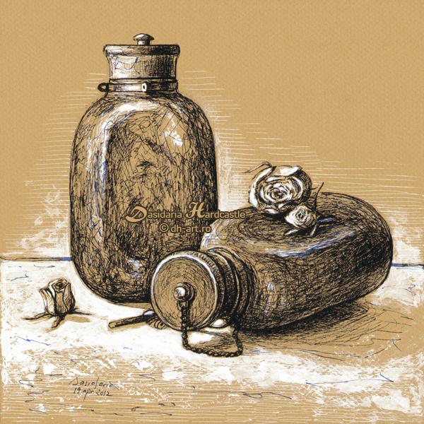 War bottles by dh6art