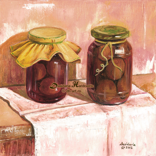Plum compote by dh6art