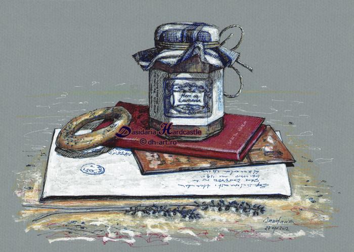 Jam and pretzel by dasidaria-art