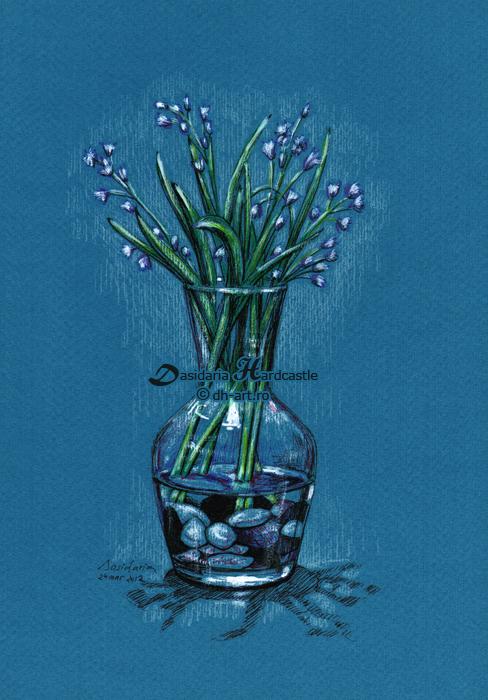 Scilla bifolia by dasidaria-art