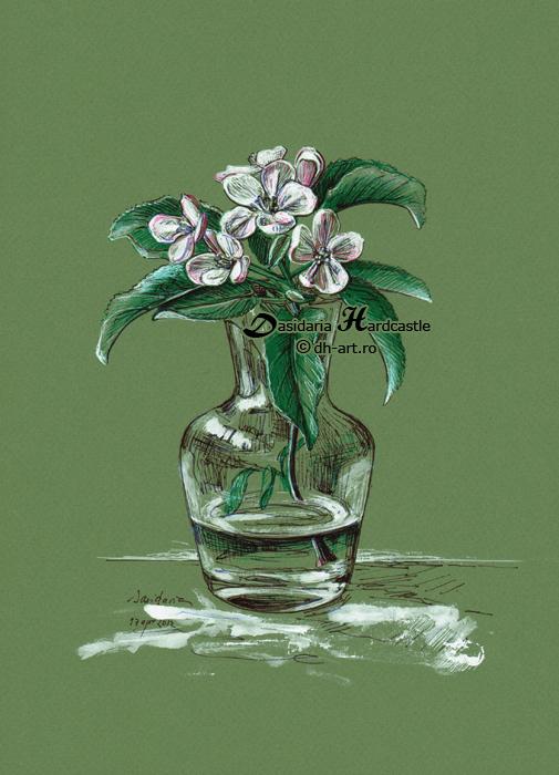 April flower by dasidaria-art