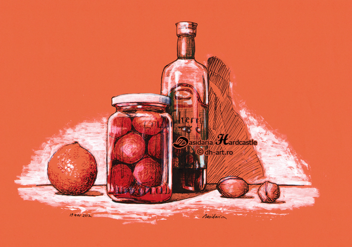 Stewed fruit by dasidaria-art