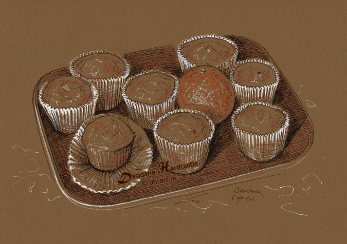 Muffins by dasidaria-art