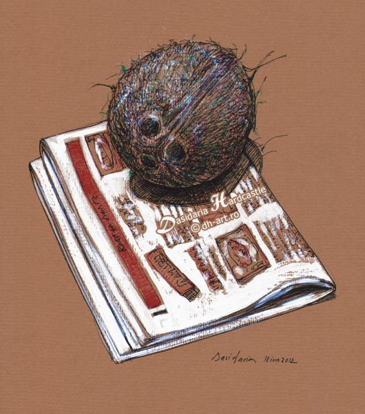 Sweet creature reading by dasidaria-art