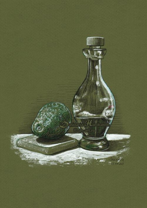 Healthy oils by dasidaria-art