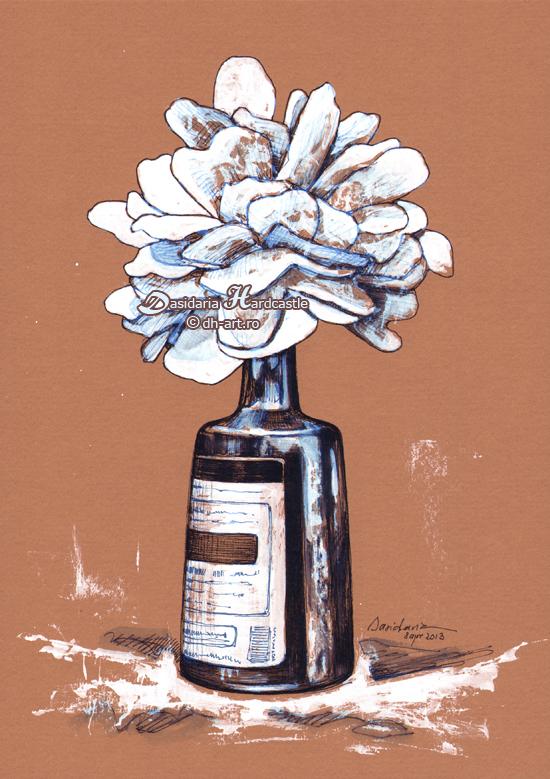 Paper flower by dasidaria-art