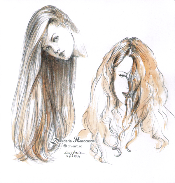 Sketches 4 by dasidaria-art
