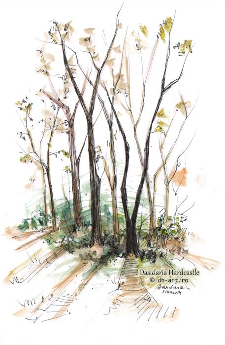 Sketchbook - Silhouettes by dasidaria-art