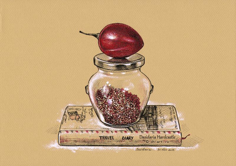 Memory jar by dasidaria-art
