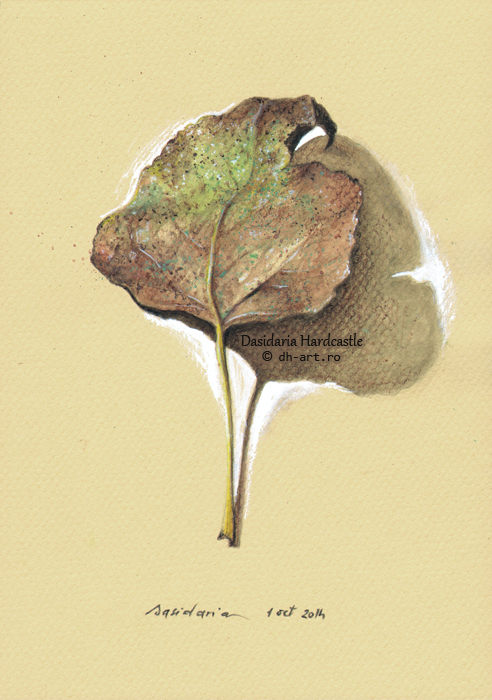 Project . Leaves . i by dasidaria-art