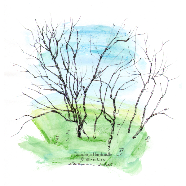 Sketchbook - Branches by dh6art