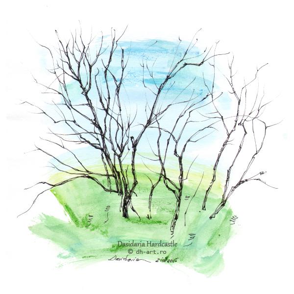 Sketchbook - Branches by dasidaria-art
