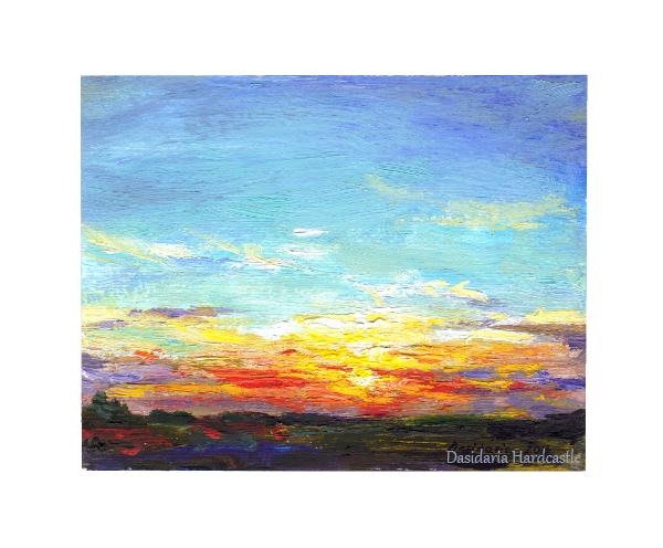 Sunset (minuature) by dasidaria-art