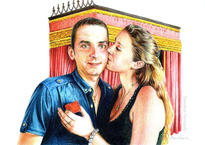 L and M by dasidaria-art