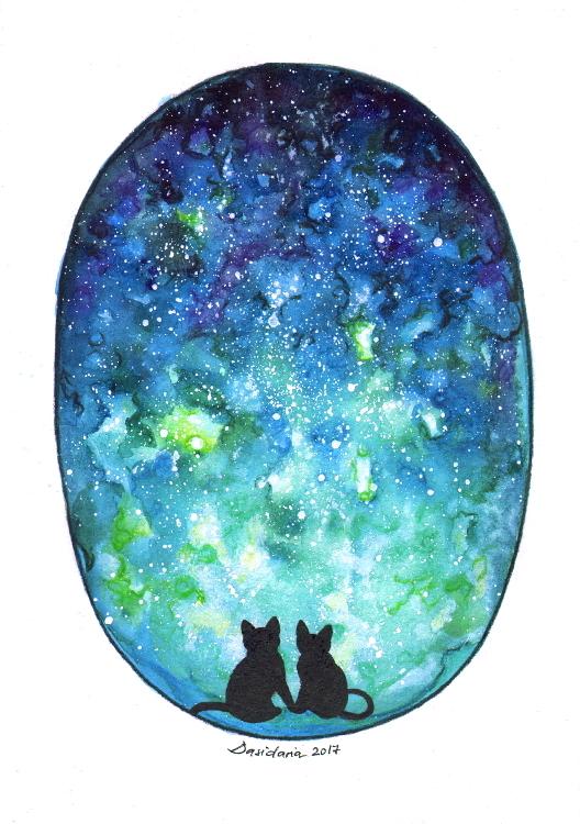 Cat love by dasidaria-art