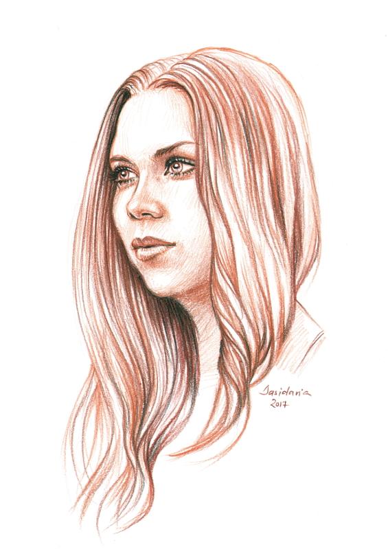 G sketch by dasidaria-art