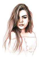 Portrait by dasidaria-art